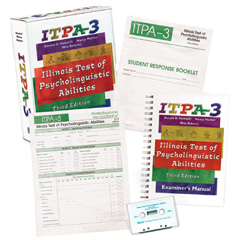Illinois Test of Psycholinguistic Abilities (ITPA-3) - COMPLETE KIT