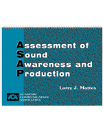 Assessment of Sound Awareness and Production (ASAP) Kit and Multicultural CD
