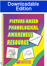 Picture-Based Phonological Awareness Resource (Downloadable Edition)