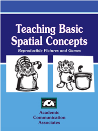 Teaching Basic Spatial Concepts CD- Reproducible Pictures and Games (CD Edition)