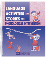 Language Activities and Stories for Phonological Intervention - SAVE 50 percent