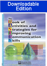 Book of Activities and Strategies for Improving Communication Skills -Downloadable Edition