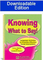 Knowing What to Say! (Downloadable Edition)