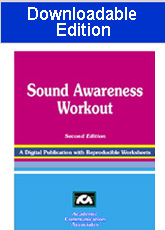 Sound Awareness Workout - Recently published downloadable edition!