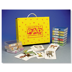 peabody articulation deck for sh and ch speech therapy materials